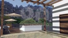 interiorismo, remodelacion, terraza, asador