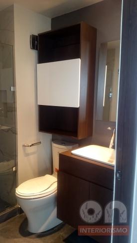 Interiores, interiorismo, remodelacion, ph, baño, ceramico, madera