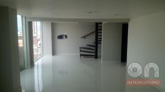 Interiores, interiorismo, remodelacion, ph, sala, comedor, tv