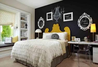 dormitorios-de-matrimonio-con-pintura-pizarra-768x527