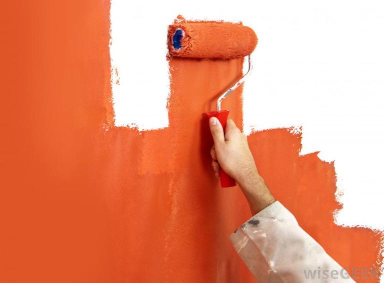 hand-painting-wall-orange